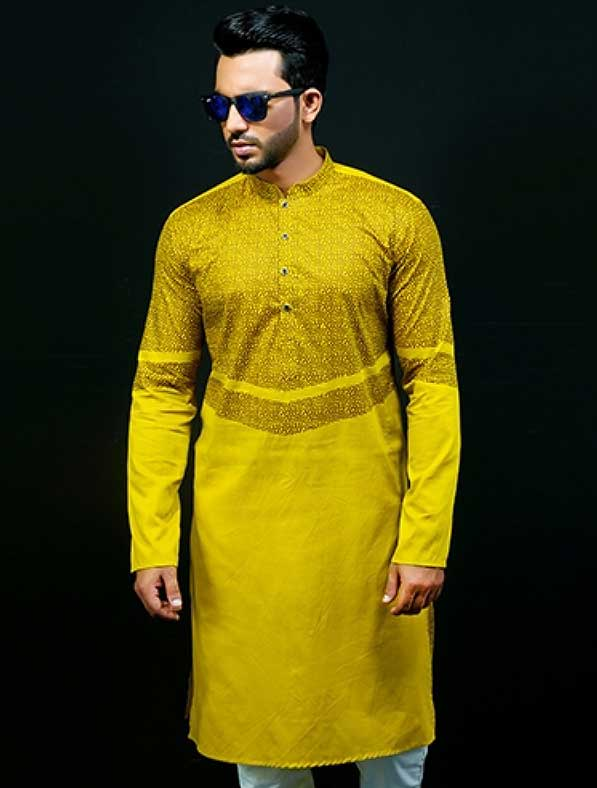 Yellow Panjabi