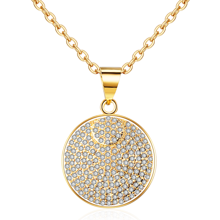 Diamond Locket Gold plated