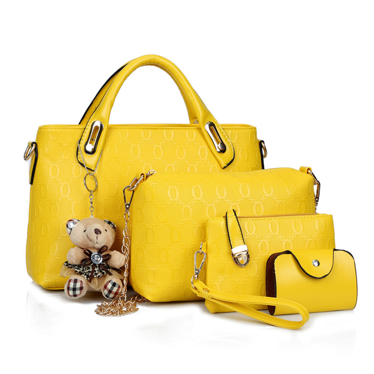 Yellow Vanity Bag