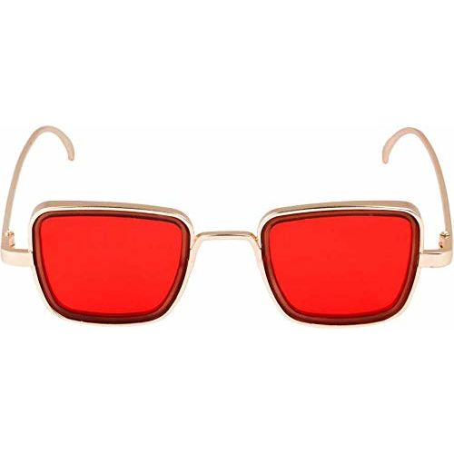 Red Oval Shape Goggle