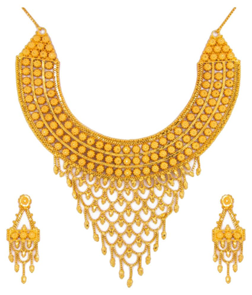 Gold Necklace Set 3